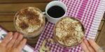 Receita para adoçar! Tiramissu vegano chocolate e café