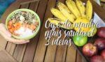 3 IDEIAS FÁCEIS E RÁPIDAS DE CAFÉ DA MANHÃ SAUDÁVEL | S/ GLÚTEN E LACTOSE