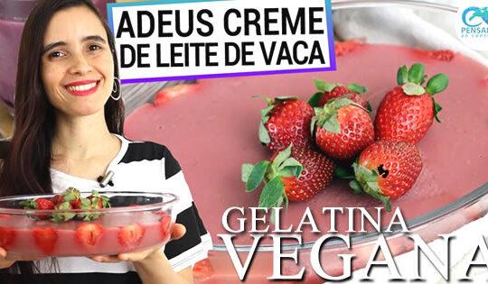 receita gelatina vegana