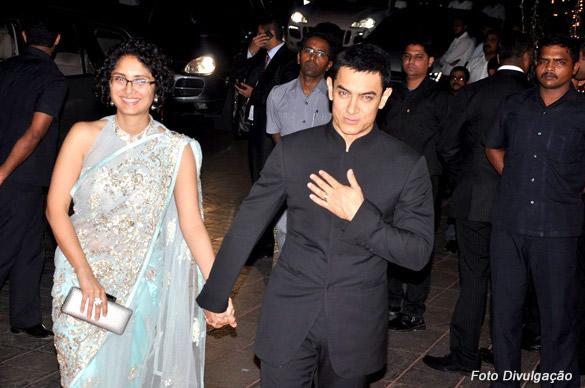 Aamir_Khan e sua esposa Kiran Rao
